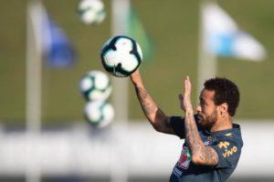 O atacante da seleção brasileira Neymar (Lucas Figueiredo:CBF)