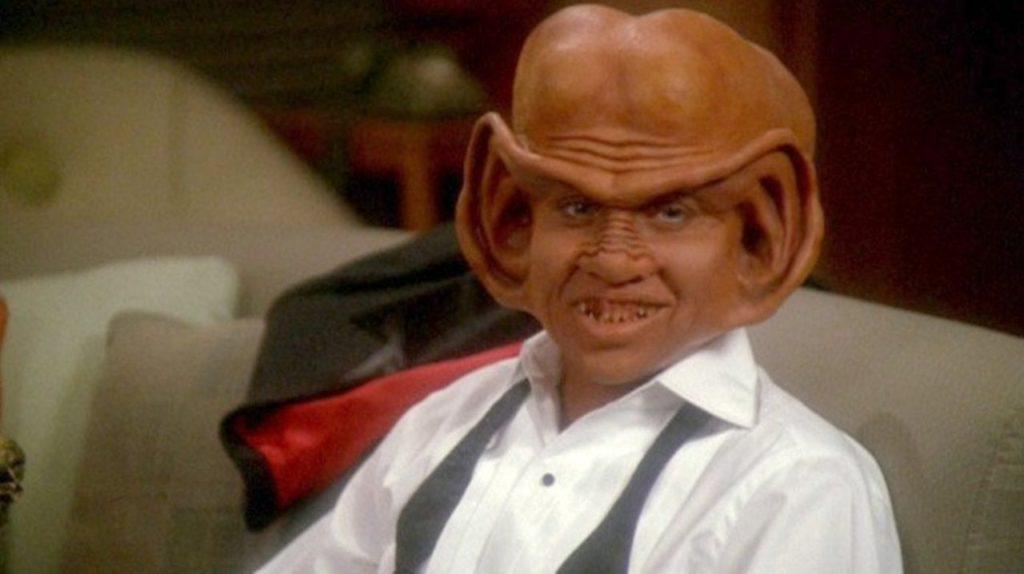 Ator interpreta o personagem Nog em Star Trek (Foto: Divulgação)