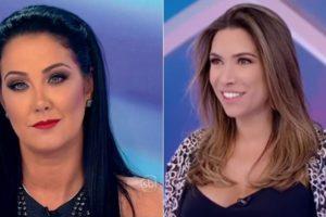 Helen Ganzarolli e Patrícia Abravanel do SBT tiveram um conflito (