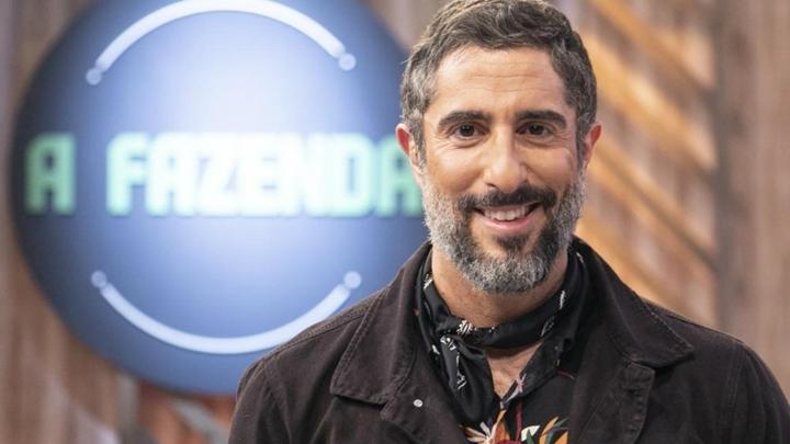 A Fazenda, Record, Marcos Mion é o apresentador de A Fazenda 11 da Record (Foto: Reprodução)