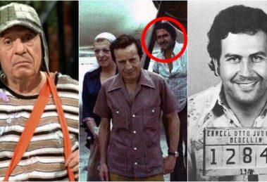 Elenco de Chaves animou festa de Pablo Escobar, um dos maiores traficantes da história. (Foto: Montagem/Reprodução)