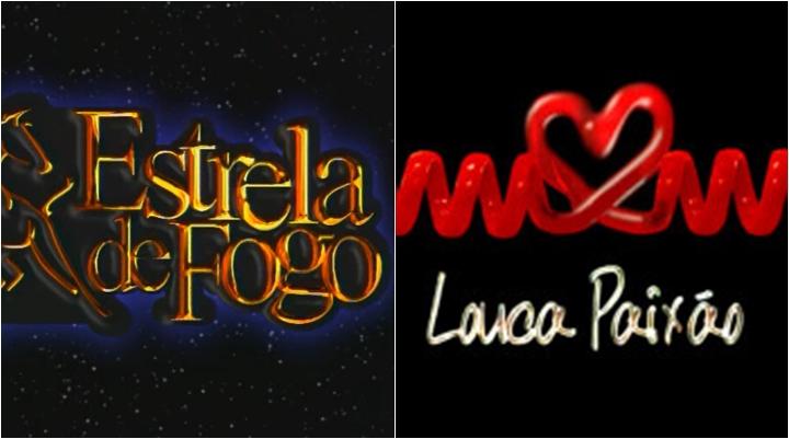 Novelas Estrela de Fogo e Louca Paixão, exibidas pela Record, devem ir ao ar na TV Gazeta. (Foto: Montagem/Reprodução)
