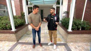 Kevinho concedeu entrevista ao programa Hora do Faro, da Record (Foto: Reprodução)