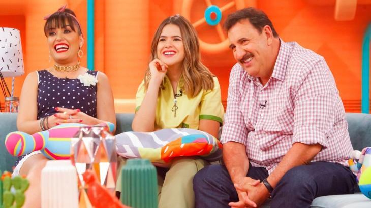 Ratinho foi ao programa da Maisa e falou sobre um episódio esporádico de seu programa (Foto: Reprodução/ SBT)