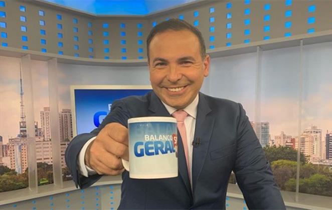 Reinaldo Gottino deixou a Record e virou manchete internacional (Foto: Reprodução)