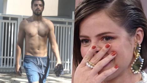 Agatha Moreira confunciu boca de Rodrigo Sima com ex e deixou o público pasmo (Foto: Reprodução)