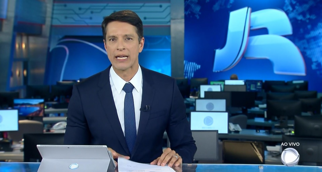 Sergio Aguar é um dos responsáveis pelo rodízio aos sábados do Jornal da Record (Foto: Reprodução)