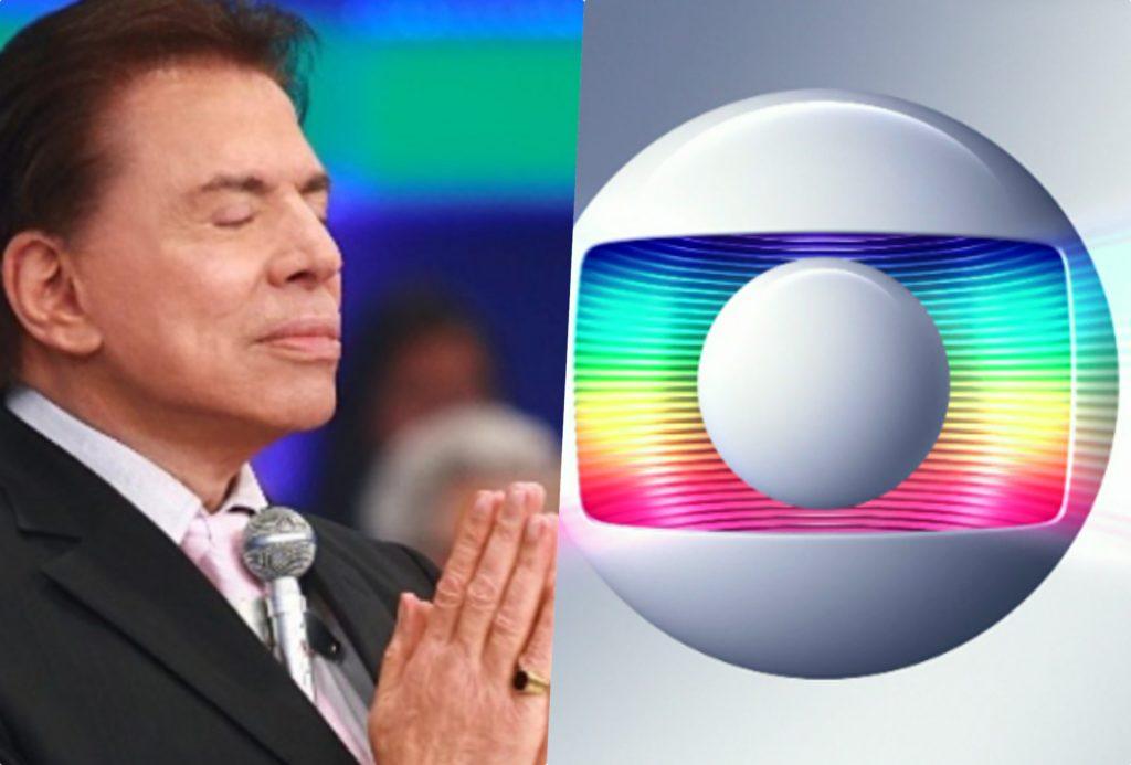 Silvio Santos fez previsão avassaladora e futuro da TV teve seu futuro definido, inclusive na Globo (Foto montagem: TV Foco)