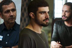 Amadeu, Rock e Teo montaram um trio para desmascarar Jô na trama de A Dona do Pedaço