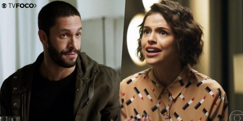 Téo (Rainer Cadete) vai colocar Josiane para morar em muquifo em A Dona do Pedaço (Foto: Reprodução/Globo/Montagem/TV Foco)