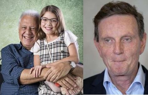 Antônio Fagundes ironizou Marcelo Crivella (Foto da esquerda: Raquel Cunha/ Globo/ Divulgação) (Foto da direita: Claudia Martini / Futura Press)