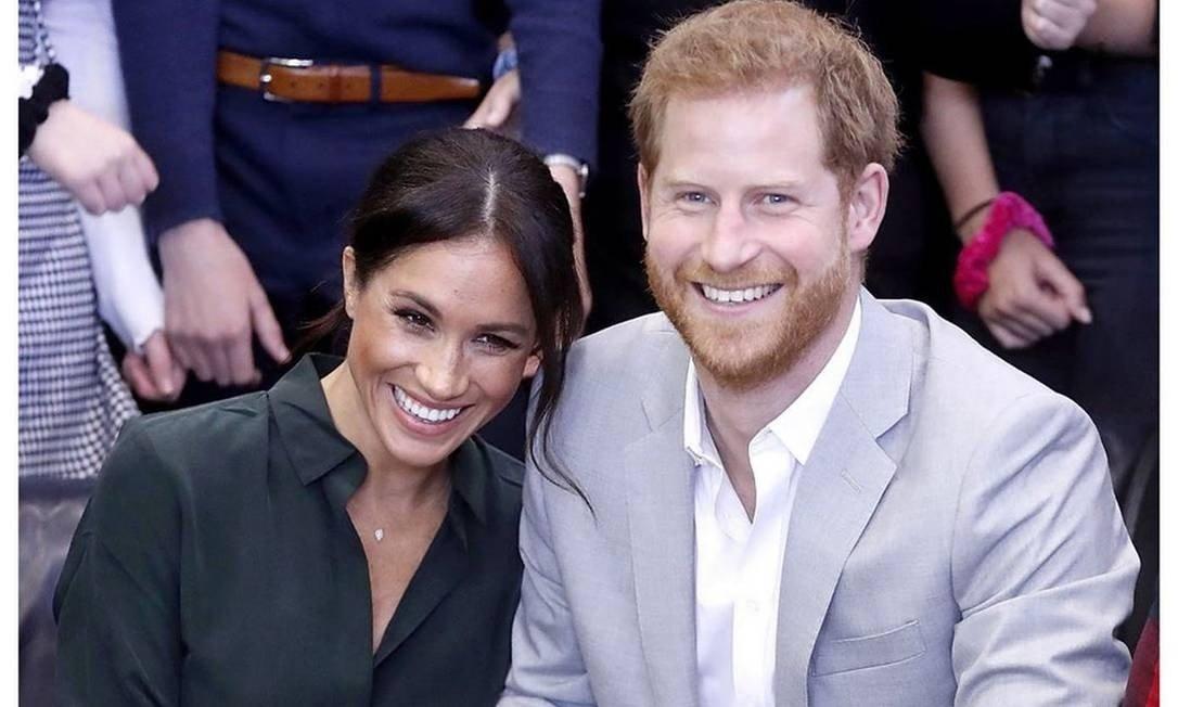 Príncipe Harry e Meghan Markle podem deixar a realeza (Foto: Reprodução)
