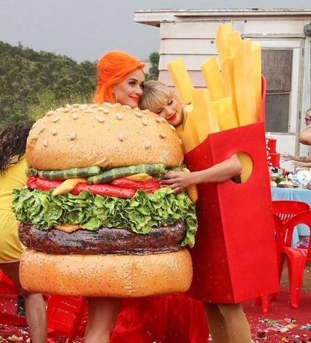 Taylor Swift e Katy Perry (Foto: Reprodução)