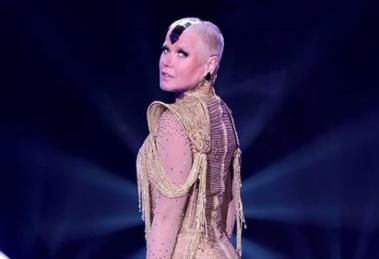 Xuxa aparece com visual diferente (Foto: Reprodução)