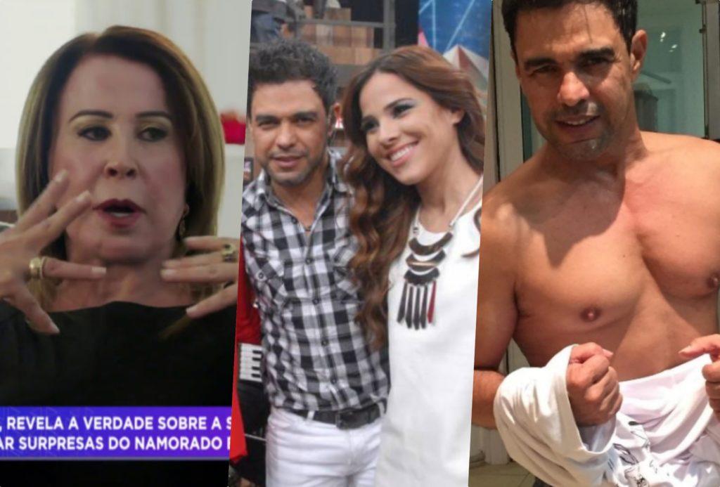 Zilu Camargo enfrente guerra na justiça com Zezé Di Camargo e filhos são colocados no meio (Foto montagem: TV Foco)