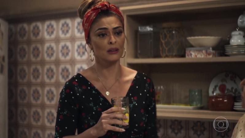 Maria da Paz (Juliana Paes) em A Dona do Pedaço (Foto: Reprodução/Globo)