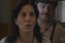 Gloria Pires (Lola) em cena de Éramos Seis, que teve queda de audiência (Foto: Reprodução/Globo)