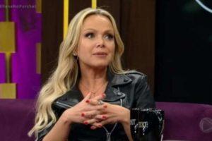 A apresentadora Eliana vem sendo ameaçada por um fã no SBT (Foto: Reprodução)