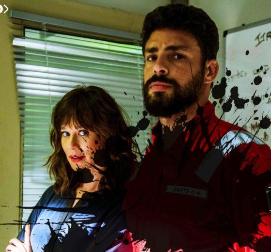 Cauã Reymond e Mariana Ximenes em Ilha de Ferro