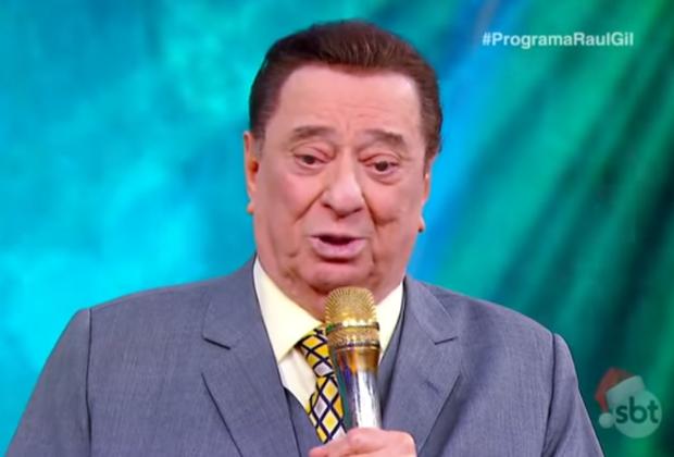 O apresentador Raul Gil teve morte anunciada (Foto: Reprodução)