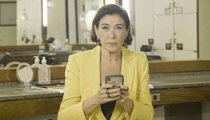 Lilia Cabral, que teve reencontro com Joana Mocarzel, com quem contracenou em Páginas da Vida, novela das nove da Globo (Foto: Divulgação/Globo)