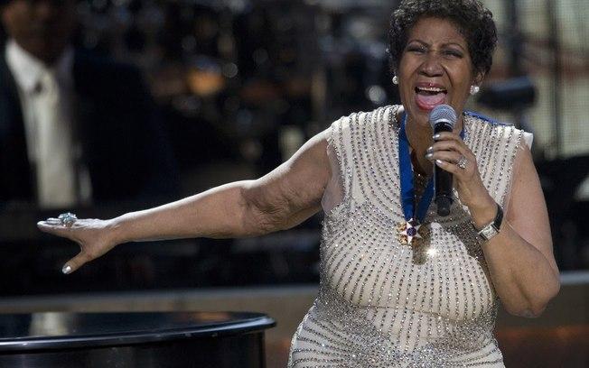 Cantora Aretha Franklin (Foto: Reprodução)