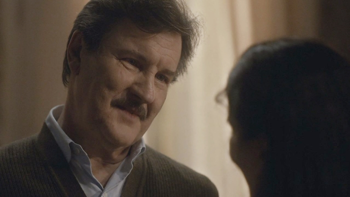Antonio Calloni (Júlio) em cena de Éramos Seis, que tem boa audiência na Globo (Foto: Reprodução/Globo)