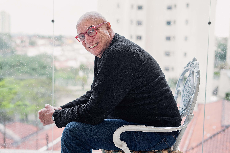 Riba Carlovich é o responsável pelas piadas do 'Domingão do Faustão'. Foto: Reprodução