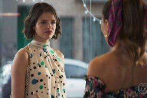 Josiane (Agatha Moreira) humilhará Maria da Paz (Juliana Paes) em A Dona do Pedaço (Foto: Reprodução/Globo)