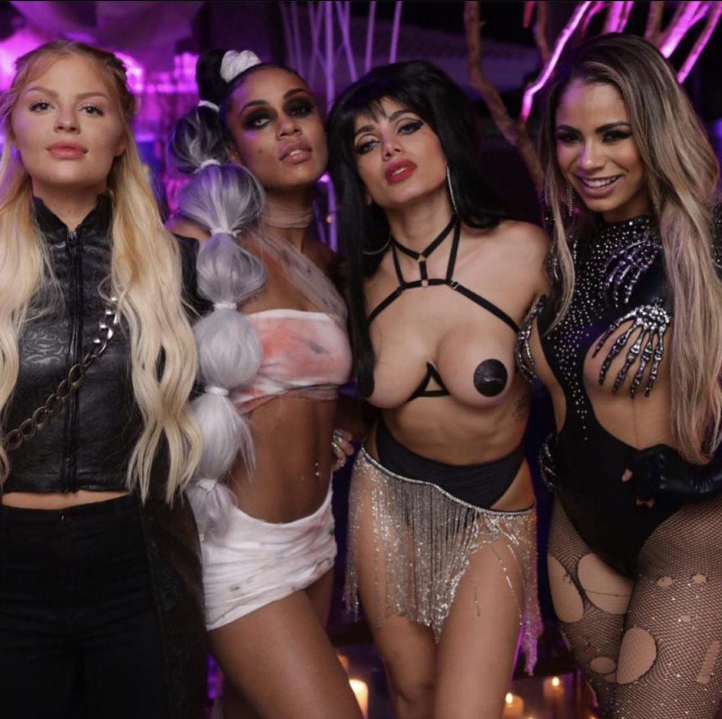 Halloween, Anitta, Gretchen, Angélica, Gracyanne