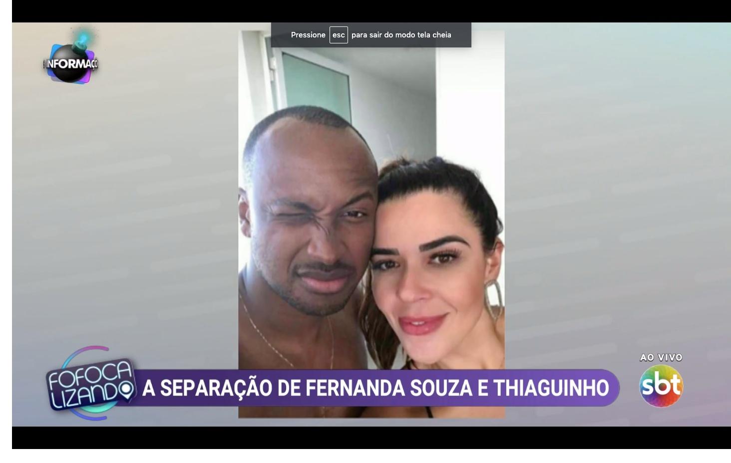 Thiaguinho surge com morena misteriosa, apontada como pivô da separação de Fernanda Souza. Foto: Fofocalizando