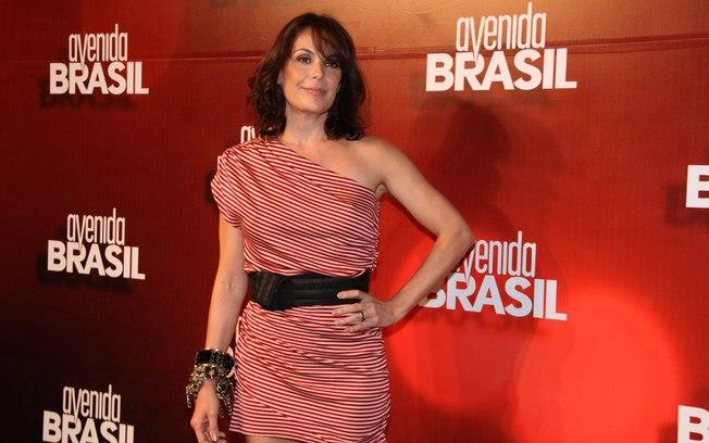 Carolina Ferraz aparece pela terceira vez consecutiva na tarde da Globo em Avenida Brasil (Imagem:divulgação)