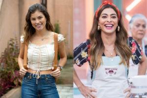 Joana (Bruna Hamú) e Maria da Paz (Juliana Paes) podem ser mãe e filha em A Dona do Pedaço da Rede Globo (Montagem: TV Foco)
