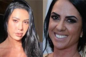 Gracyanne Barbosa Graciele Lacerda
