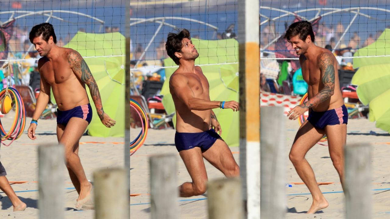 Dado Dolabella colocou a mala para jogo no Rio de Janeiro (Foto: AgNews/Montagem TV Foco)