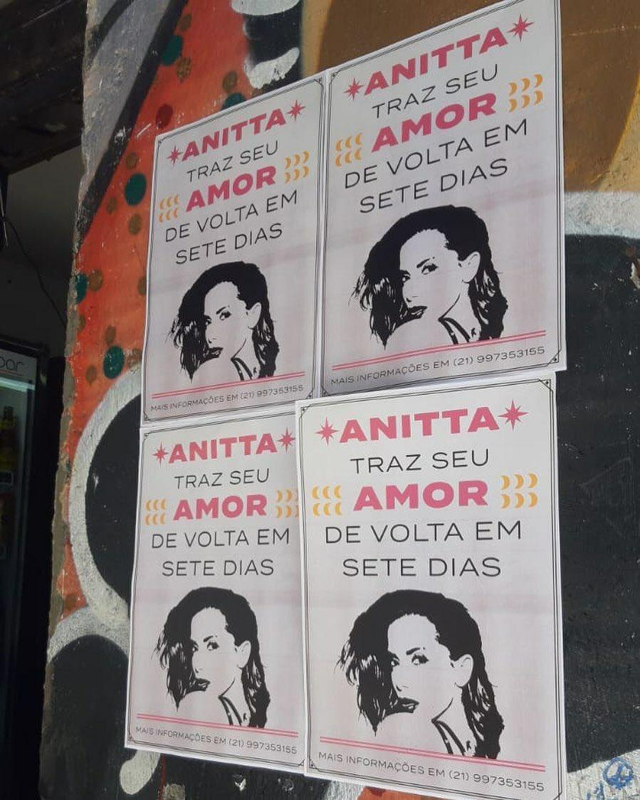 Anitta solta ação publicitária no Rio de Janeiro. Foto: Reprodução