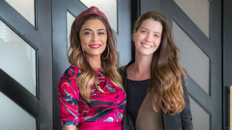 Fabiana (Nathalia Dill) vai tentar destruir Maria da Paz (Juliana Paes) de todas as maneiras em A Dona do Pedaço (Reprodução: TV Globo)