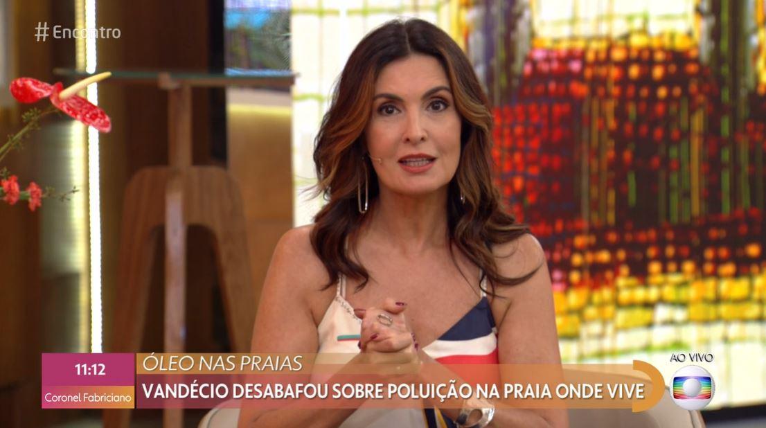 A apresentadora do Encontro com Fátima Bernardes e ex-mulher de William Bonner, da Globo (Foto: Reprodução)