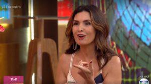 A apresentadora do Encontro com Fátima Bernardes da Globo, comete erro histórico e vira motivo de piada (Foto: Reprodução/ Globoplay)