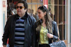 Faustão e Luciana Cardoso (Foto: AgNews)
