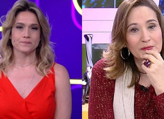 A apresentadora do Se Joga da Globo, Fernanda Gentil falou sobre a contratada da RedeTV!, Sonia Abrão (Foto: Montagem TV Foco)