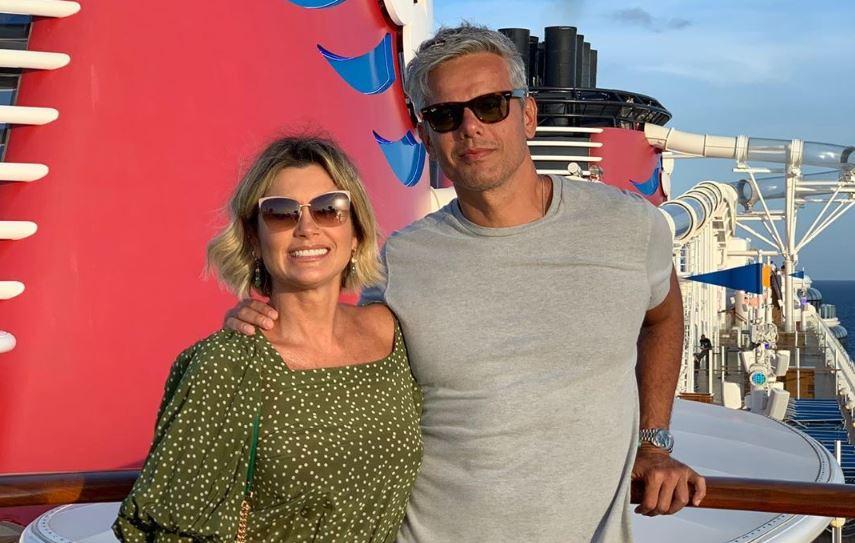 Flávia Alessandra e Otaviano Costa (Foto: Reprodução/Instagram)