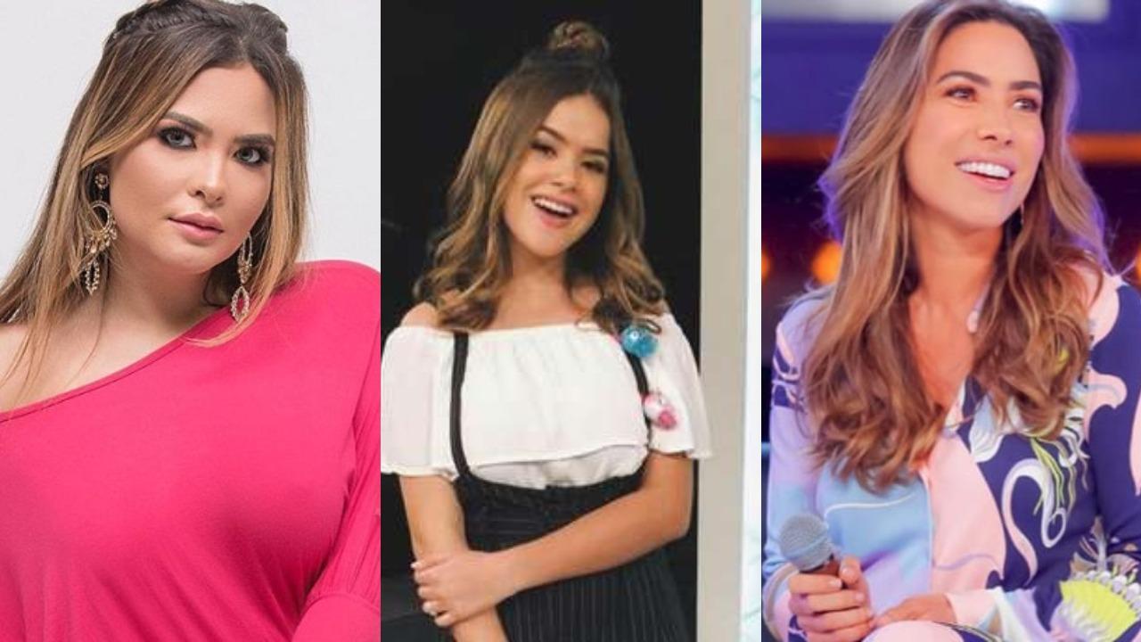 Geisy Arruda, Maisa Silva e Patrícia Abravanel (Foto: Reprodução/Instagram/Montagem TV Foco)