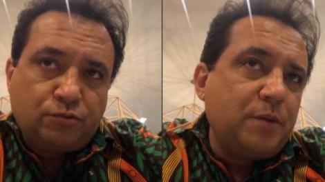 Geraldo Luis relembra passado (Foto: Montagem TV Foco)