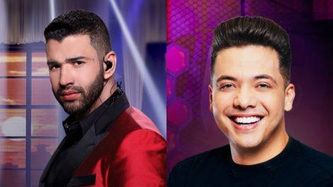 Gusttavo Lima e Wesley Safadão (Foto: Divulgação/Montagem TV Foco)