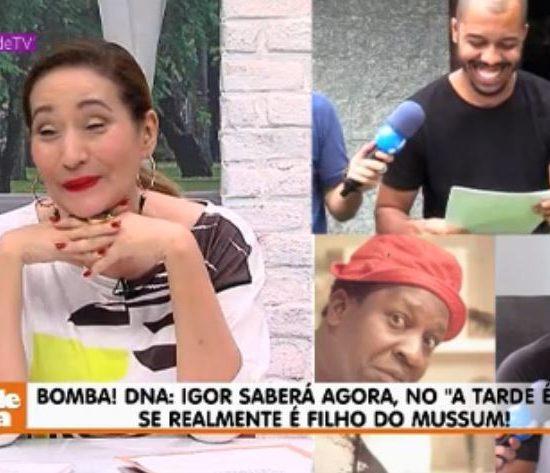 Igor Palhano, Sonia Abrão, Mussum