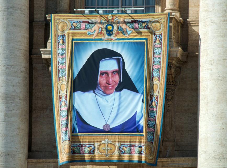 Irmã Dulce no Vaticano Record