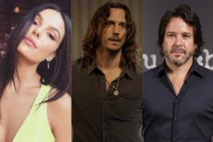 Isis Valverde, Vladimir Brichta e Murilo Benício aparecem na primeira chamada de Amor de Mãe da Rede Globo (Montagem: TV Foco)