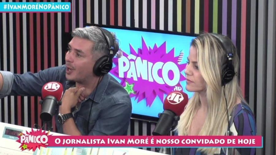 Ivan Moré participou do Pânico (Foto: Reprodução/Jovem Pan)