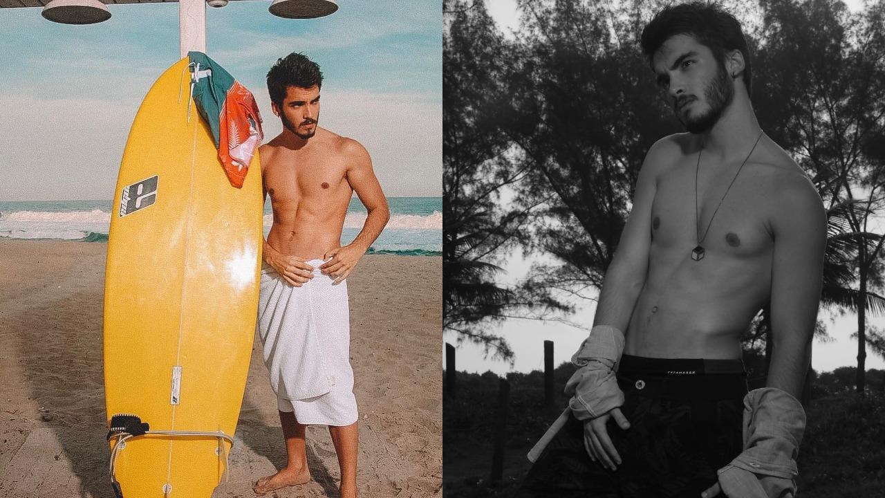 José Victor Pires (Foto: Reprodução/Instagram/Montagem TV Foco)